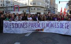 Las valencianas salen a la calle