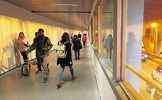 El túnel de la Gran Vía se cerrará a los peatones para evitar aglomeraciones