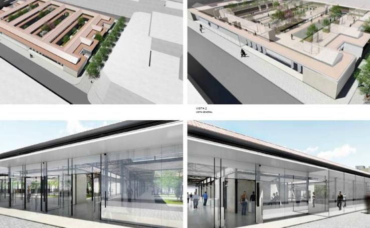 Fotos del proyecto de rehabilitación del Mercado del Grao de Valencia
