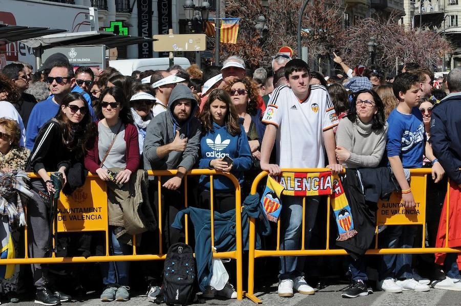 Búscate en la mascletà del 11 de marzo