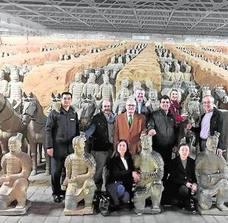 El MARQ avanza en las gestiones para que los Guerreros de Xi'an viajen hasta Alicante en 2019