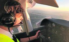 este valenciano quiere ser el piloto más joven de Europa