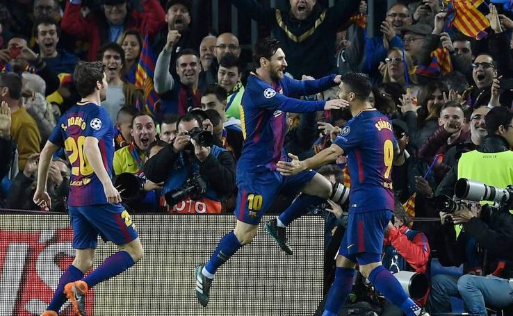 Las mejores imágenes del Barcelona-Chelsea