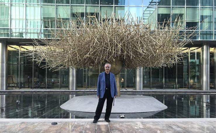 Las esculturas de Manolo Valdés en Dubái