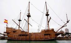 El galeón Andalucía puede visitarse desde hoy en Valencia