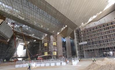 En la pirámide de Tutankamón
