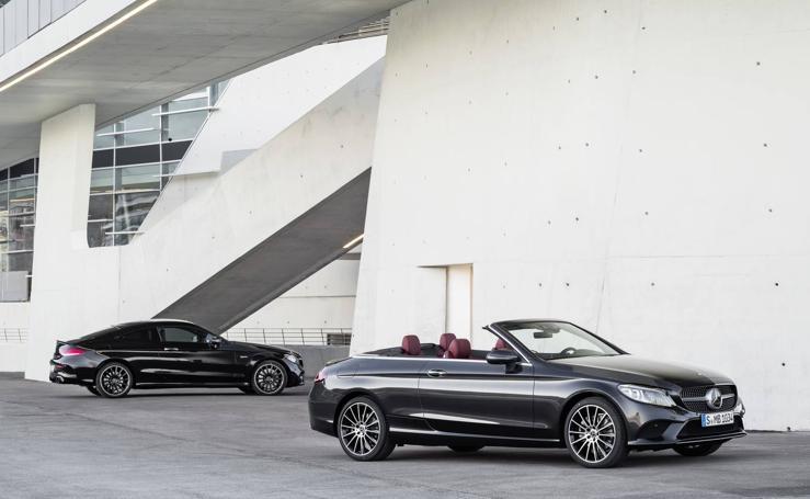 Mercedes Clase C, con carrocería cupé, cabrio y el más potente AMG C 43