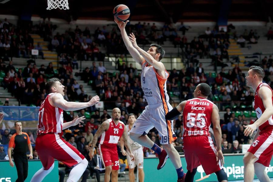 Fotos del Armani Milan - Valencia Basket