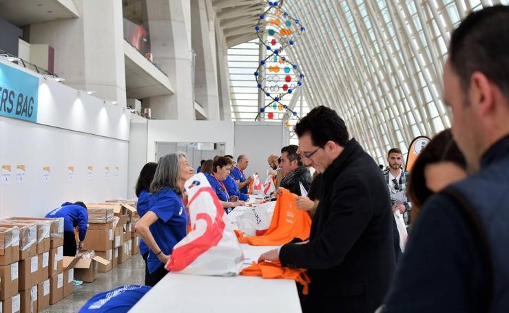 Feria del corredor del Mundial de Medio Maratón en Valencia