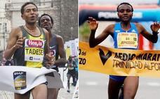 El récord mundial masculino y femenino del medio maratón