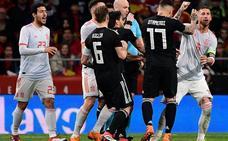Parejo debuta con España en una noche mágica
