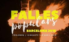 Fallas con aroma independentista en Barcelona