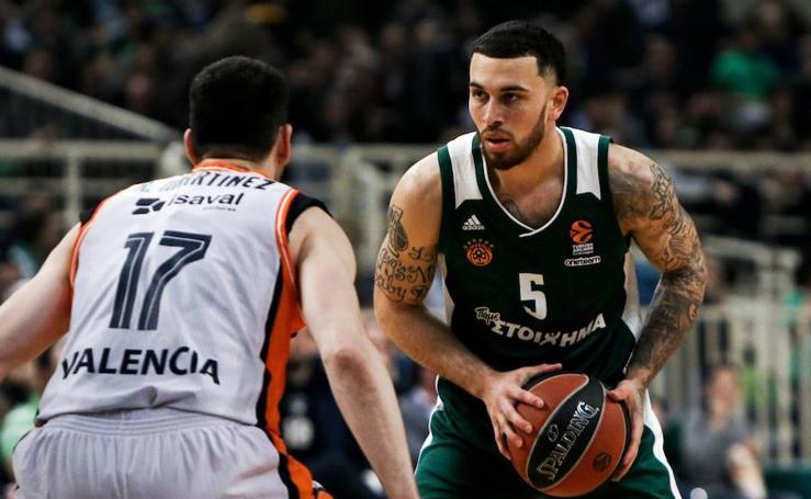 Partido del Valencia Basket-Panathinaikos de la Euroliga