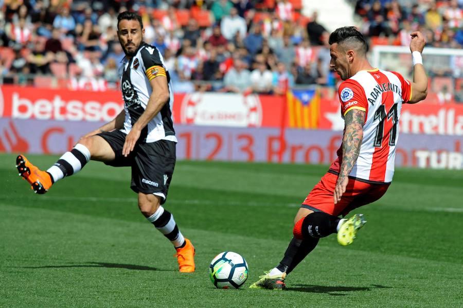 El Girona - Levante, en imágenes