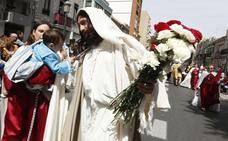 El Marítimo festeja el acto más festivo y particular de su Semana Santa