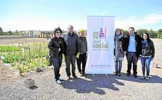 Primer plan de huertos sociales como un espacio de integración