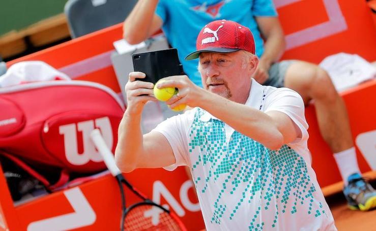 Entrenamientos de la Copa Davis en Valencia