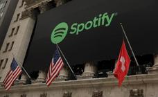 El tremendo error en el estreno de Spotify en la Bolsa de Nueva York