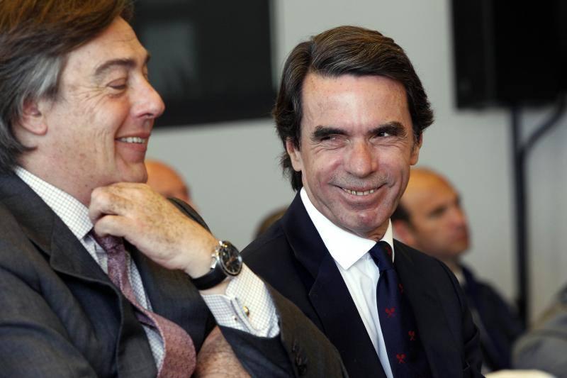 Aznar habla en Valencia del riesgo de expansión nacionalista en la Comunitat