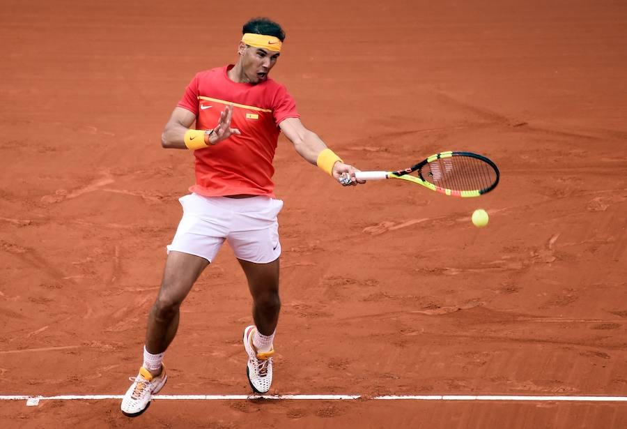 Fotos del partido entre Rafa Nadal y Philipp Kohlschreiber