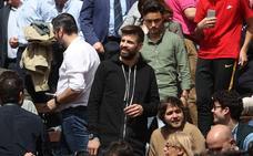 Piqué, primer famoso en Valencia