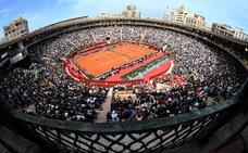 Así de espectacular luce la plaza de toros para la Copa Davis