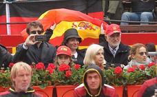 Todas las caras famosas en la Copa Davis