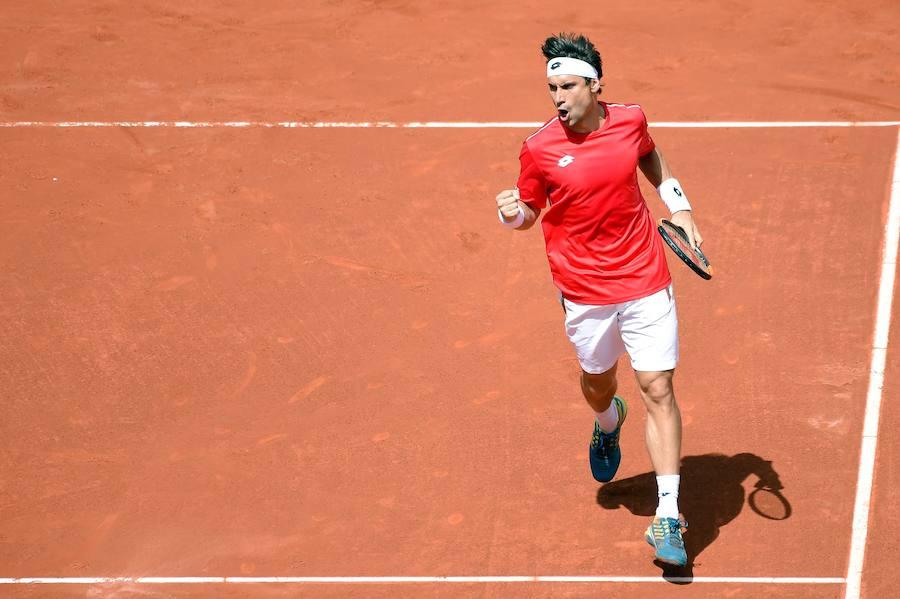 Fotos del partido entre Ferrer y Kohlschreiber en Copa Davis