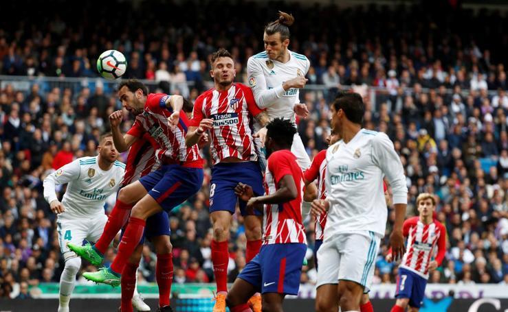 Real Madrid-Atlético, en imágenes