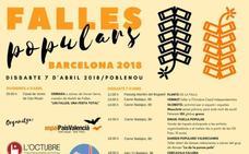 Cremà fallera con aroma independentista en Barcelona