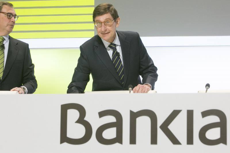 Fotos de la Junta de accionistas de Bankia 2018 en Valencia