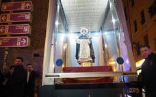 El 'Mare Móvil' de la Virgen de los Desamparados para San Vicente Ferrer