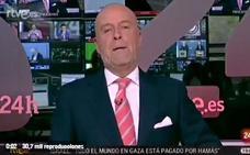 El presentador del canal 24 horas de TVE se despide «desde el Pirulí que te vi»