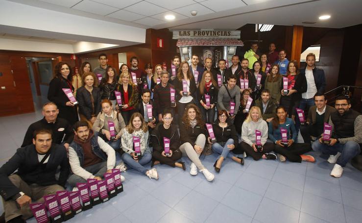 Entrega de trofeos de la carrera de las Empresas Valencianas