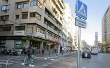 La DGT se desentiende de la señal inventada por Grezzi para el anillo ciclista de Valencia