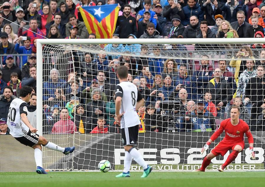 Fotos del FC Barcelona-Valencia CF