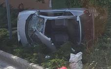 Aparatoso accidente en la CV-310 entre Bétera y Godella