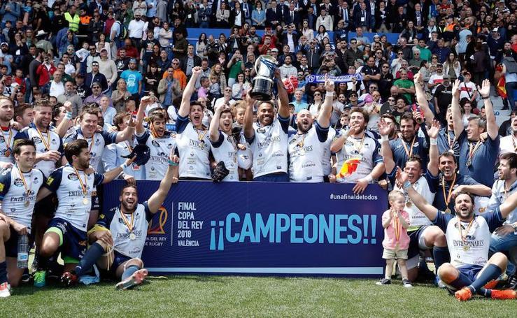 Final de la Copa del Rey de Rugby 2018 en Valencia