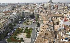 la Valencia peatonalizada