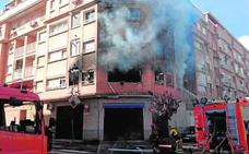 Detenido el hombre que incendió la casa de su expareja en Albal