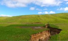 El mundo se parte: otra gigantesca grieta aparece en Nueva Zelanda