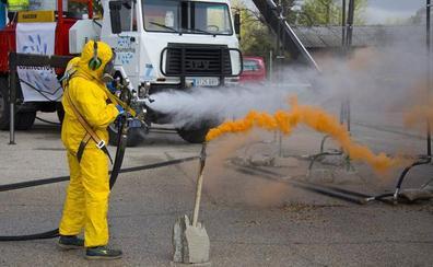 Niebla española contra las partículas contaminantes