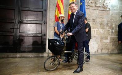El PP denuncia que el libro blanco de los ciclistas prometido por Puig está vacío