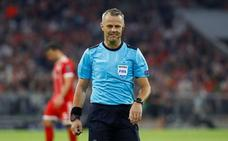 Bjorn Kuipers dirigirá la final de la Liga Europa entre Marsella y Atlético de Madrid