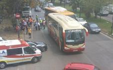 Un nuevo accidente en la avenida del Cid se salda con 9 heridos