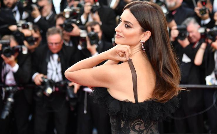 Glamur en la alfombra roja de Cannes