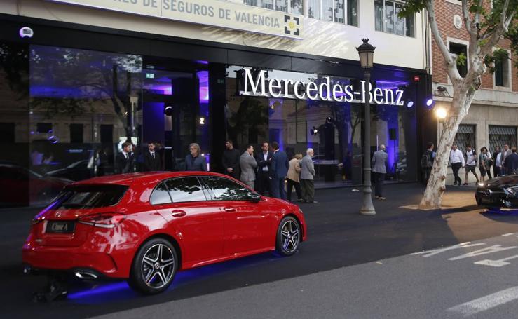 Mercedes inaugura sus nuevas instalaciones en Valencia