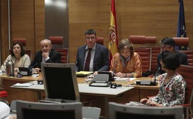 Morera declara en el Senado que «no existe nada» contra el Bloc por financiación irregular