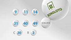 Resultados de la Bonoloto de hoy sábado 16 de junio. Combinación ganadora del sorteo y números premiados
