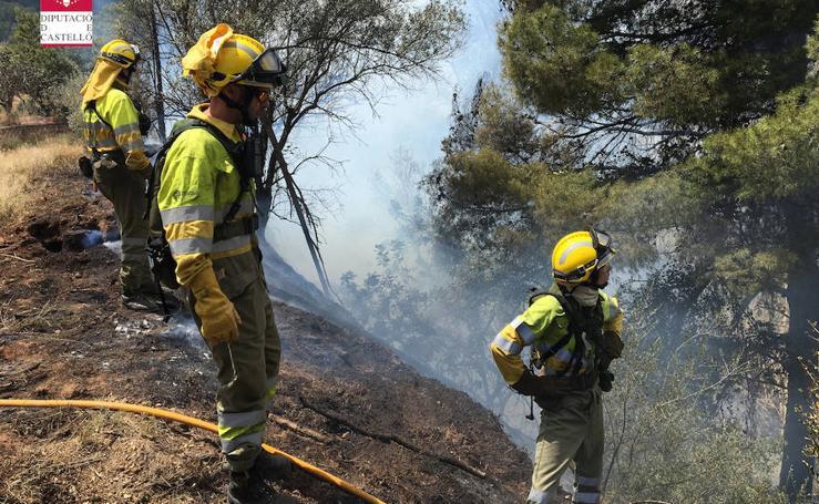 Incendio forestal en Fanzara, Castellón (14/05/2018)
